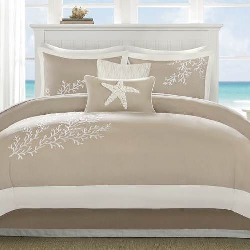 Harbor House Coastline Khaki 6 Piece Comforter Set - Queen by Harbor House Bedding