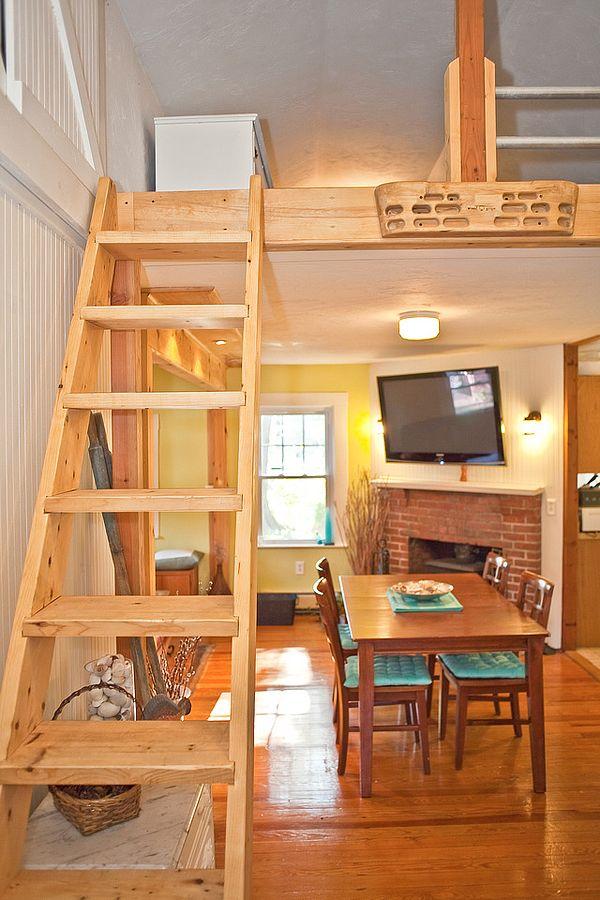 Casa de madera peque a decoracion de interiores casas - Casa pequena de madera ...