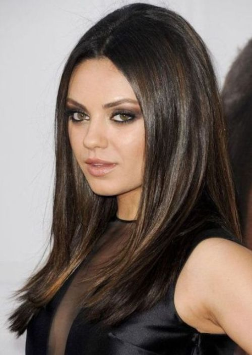 20 Terrific Hairstyles For Long Thin Hair Hair Coloring 50th And
