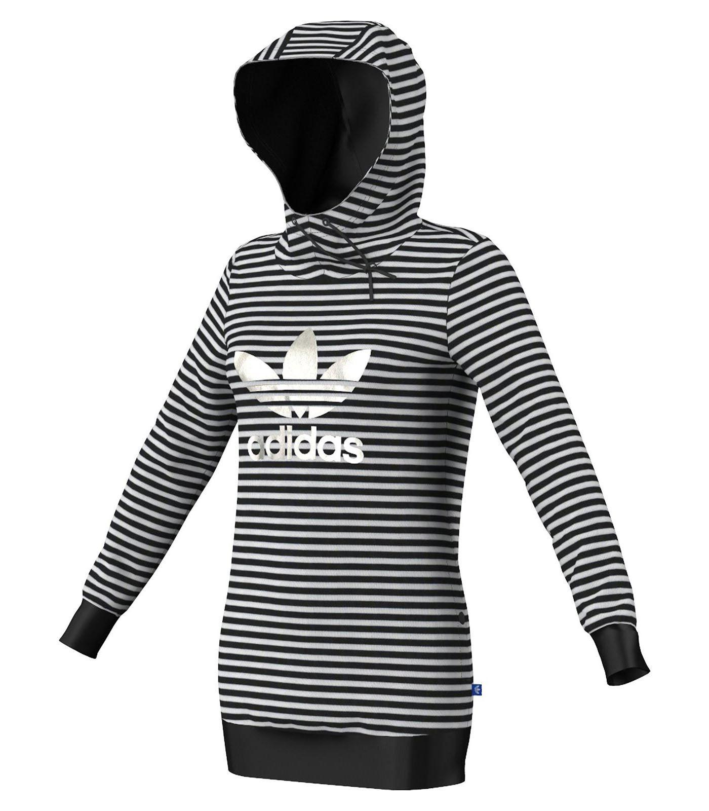 Adidas Originals Striped Logo - Vêtements - Femme - Chandails - Sports  Experts eb9cf738e72