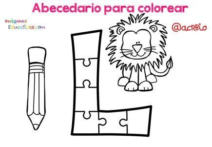 Abecedario Para Colorear Listo Para Descargar E Imprimir Abecedario Aprender El Abecedario Imagenes Educativas
