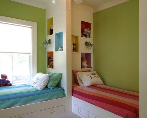 Moderne Kinderzimmer Dekoration - Tolle Dekor Schema Kids bedroom - das moderne kinderzimmer