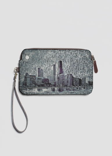 VIDA Statement Clutch - Mount Shasta Purse by VIDA yincsQIE