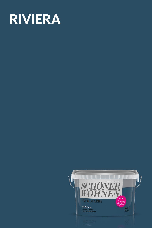 Riviera Eine Der Originalen Trendfarben Von Schoner Wohnen Farbe Schoner Wohnen Farbe Schoner Wohnen Wohnen