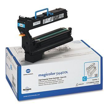 1710602008 High-Yield Toner, 12000 Page-Yield, Cyan