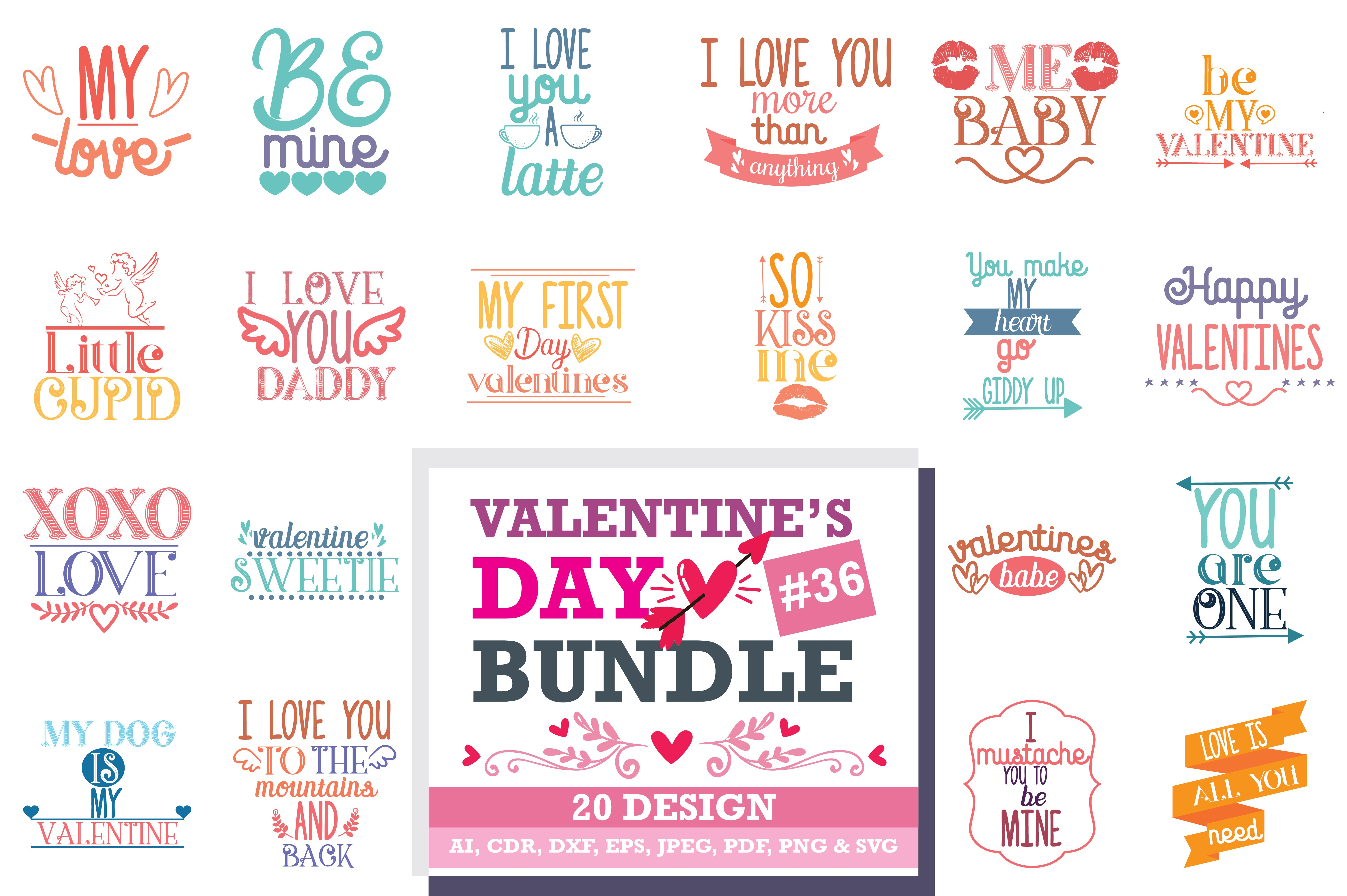 Download Free Mega Bundle Svg Valentine S Day Graphic By Thelucky Creative Fabrica Valentine Happy Love Day Day PSD Mockup Template
