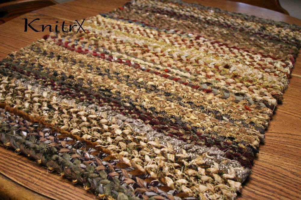 Country Rug Twine Rag Cotton Sisal Woven