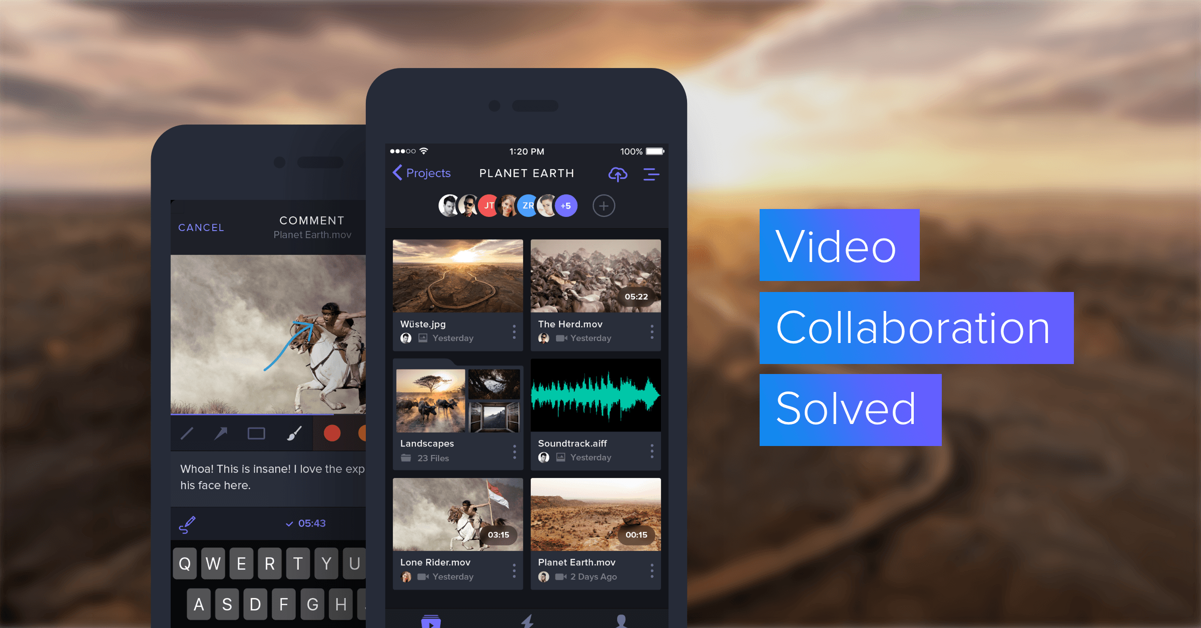 Frame.io for iOS Realtime video collaboration now with a