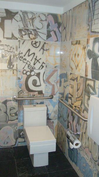 graffiti tiles Google Search Bathrooms Pinterest Graffiti