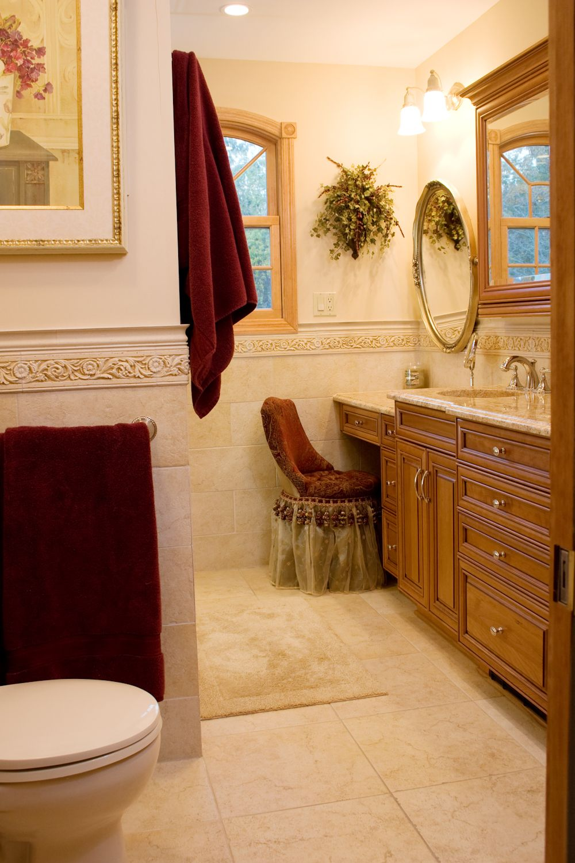 Nda kitchens bathroom vanity mirror makeup area banos