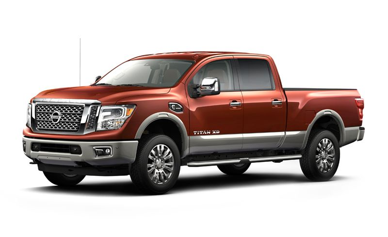 2020 Nissan Titan Review Pricing And Specs Nissan Titan Nissan Titan Xd 2017 Nissan Titan