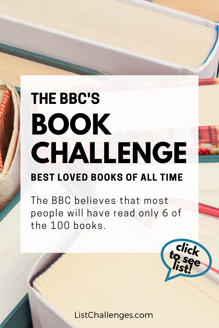BBC Believes You've Only Read 6 of These Books    is part of Book list must read, Best book club books, Book challenge, Books to read before you die, Best books to read, Top books to read - The BBC believes that most people will have read only 6 of the 100 books below  How many have you read  (Tip The average Goodreads