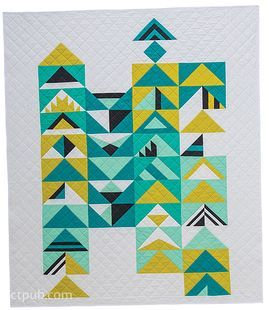 Modern Triangle Quilts: 70 Graphic Triangle Blocks * 11 Bold Samplers by Rebecca Bryan