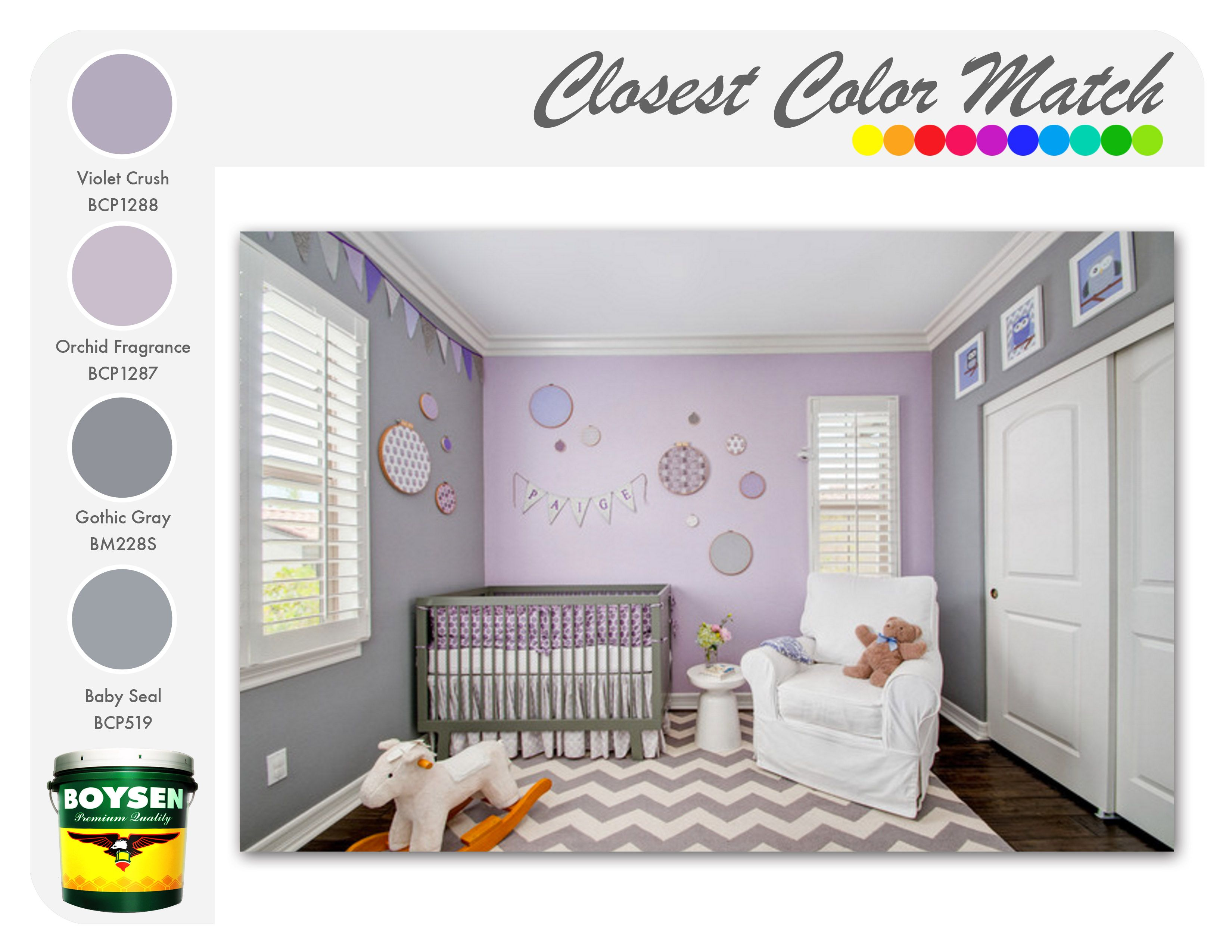Lavender And Grey Soft Shades Of These Two Colors Can Create An