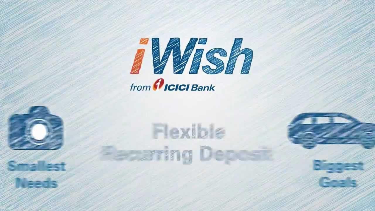 Icici Bank Iwish Flexibility Icici Bank Deposit
