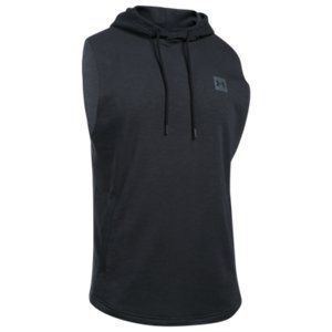 d03e250821823f Under Armour Sportstyle Sleeveless Hooded Tank Top for Men  - Black Stealth  Gray - 2XL