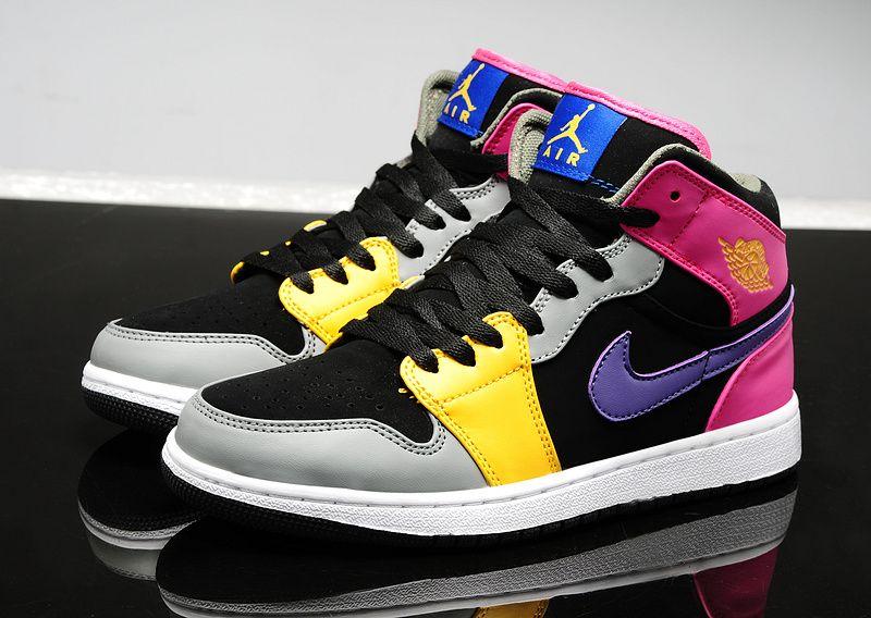 966cd38ca465 Air Jordan 1 GS sneaker Colorful custom