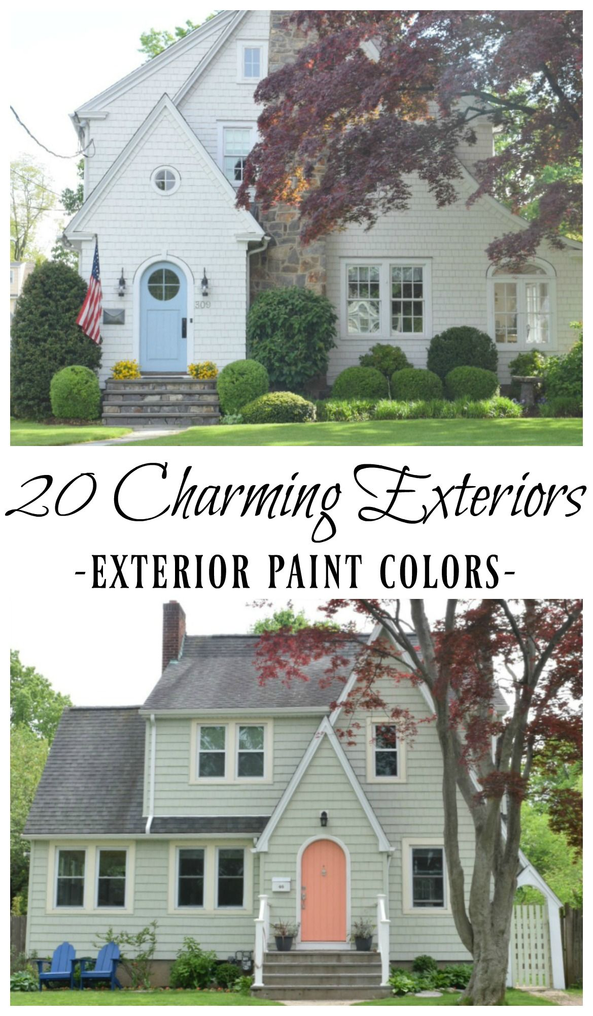More paint colors from the uv parade of homes my favorite home - New England Homes Exterior Paint Color Ideas