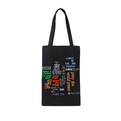 Hands that Shape Humanity x Fleur Wood tote bag | therealstore.com.au