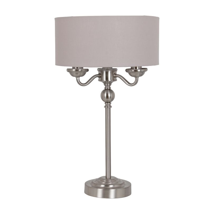 Valencia 3 Light Table Lamp Light Table Table Lamp Types Of Lighting