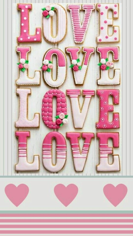 Love Pink Wallpaper or Lock-Screen you choose | *Words and ...