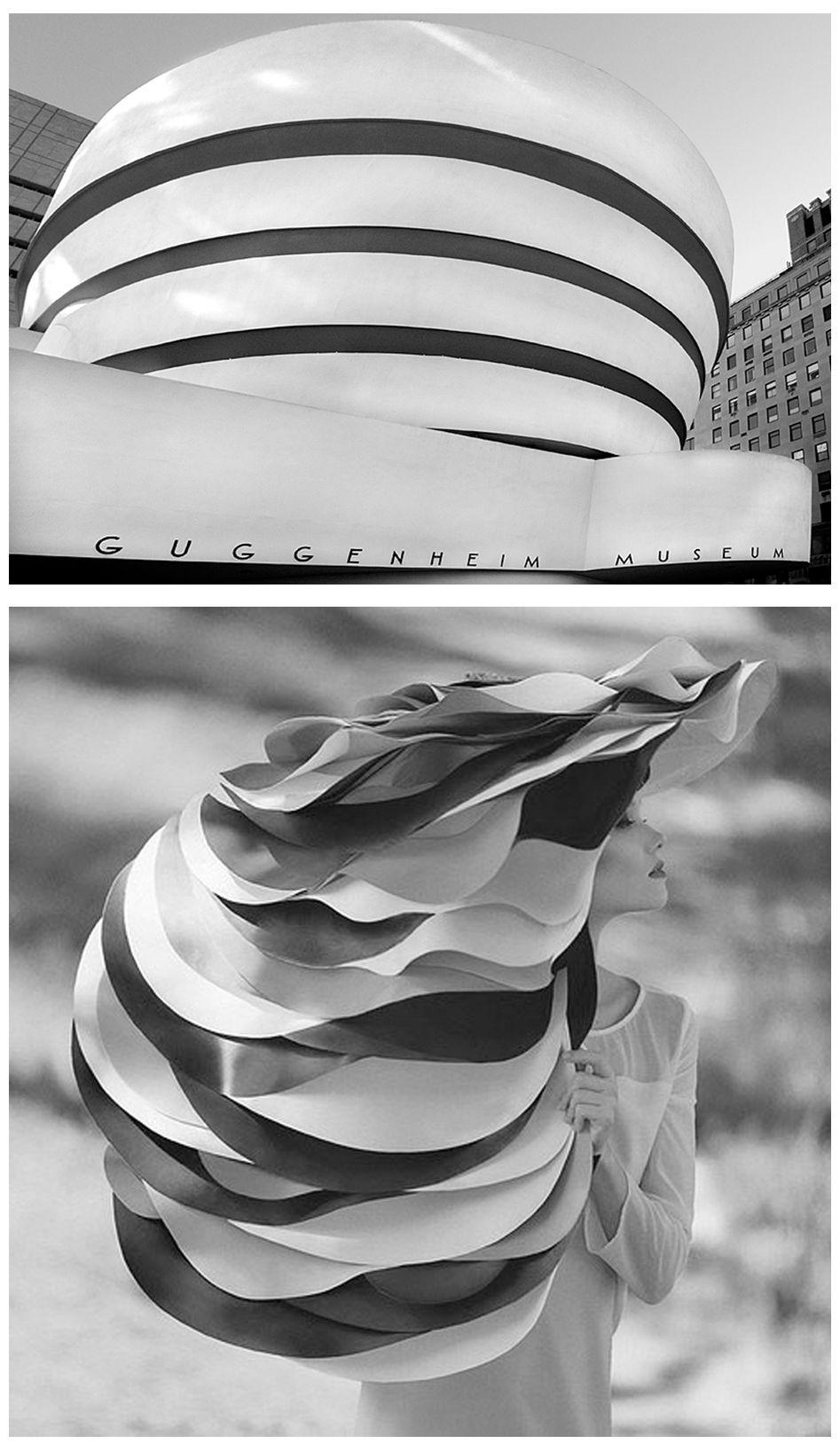 architecture and fashion 1 guggenheim museum new york frank lloyd wright 2 fine art. Black Bedroom Furniture Sets. Home Design Ideas