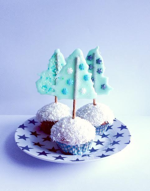 Muffin Tannenbaum.Tannenbaum Muffins праздничные маффины Muffins Lecker