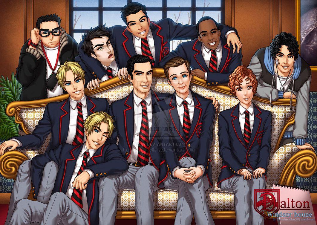 Glee: Dalton Windsor House by ElmerSantos