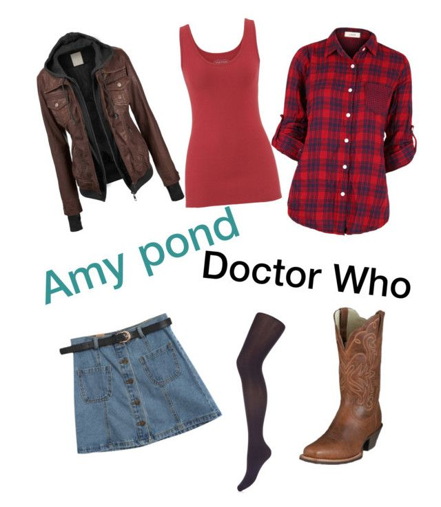 """""""Doctor Who/Amy Pond"""" by lps1880 ❤ liked on Polyvore featuring maurices, Chicnova Fashion and Monsoon"""