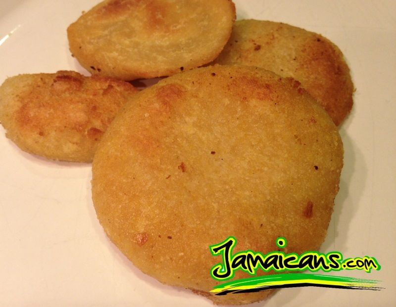 the boiled dumpling is a jamaican staple and is eaten