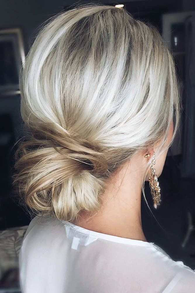 30 Wedding Hairstyles For Thin Hair: 2017 Collection | Short thin hair, Short wedding hair, Low ...