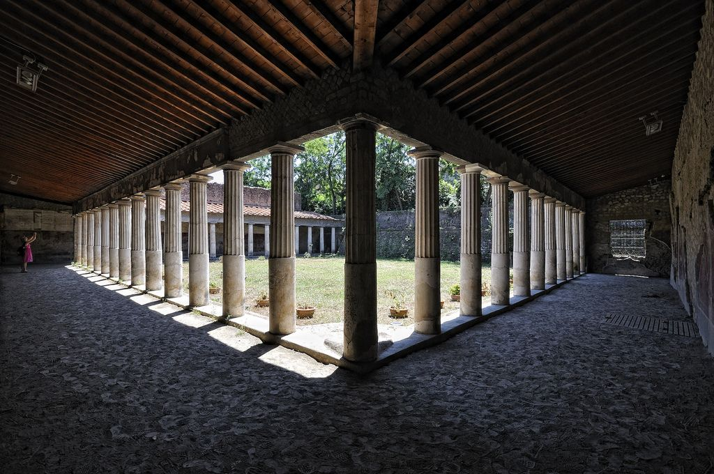Poppaea is Roman villa  It is situated in Roman Oplontis