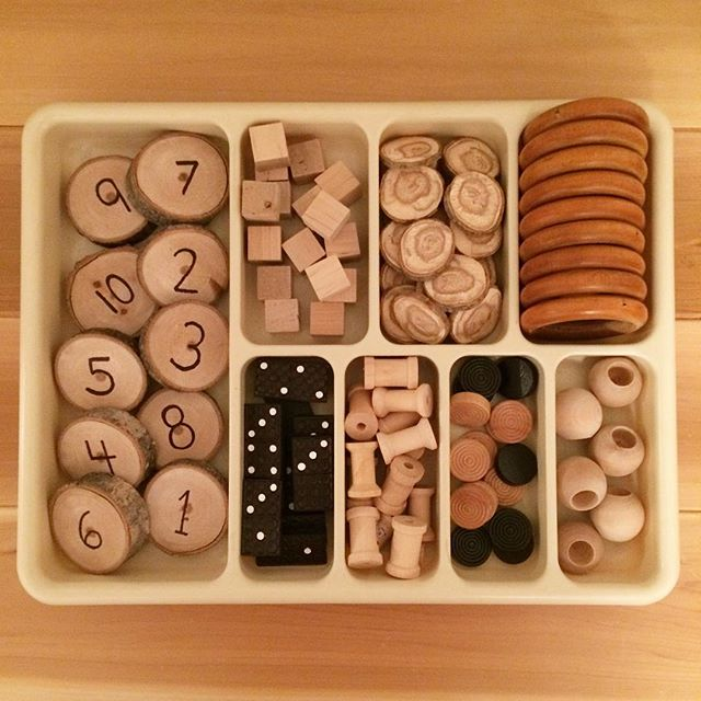 "Kimberly Mulholland on Instagram: ""We love using math trays in our learning space. They are a great way for students to openly explore different math concepts.…"""