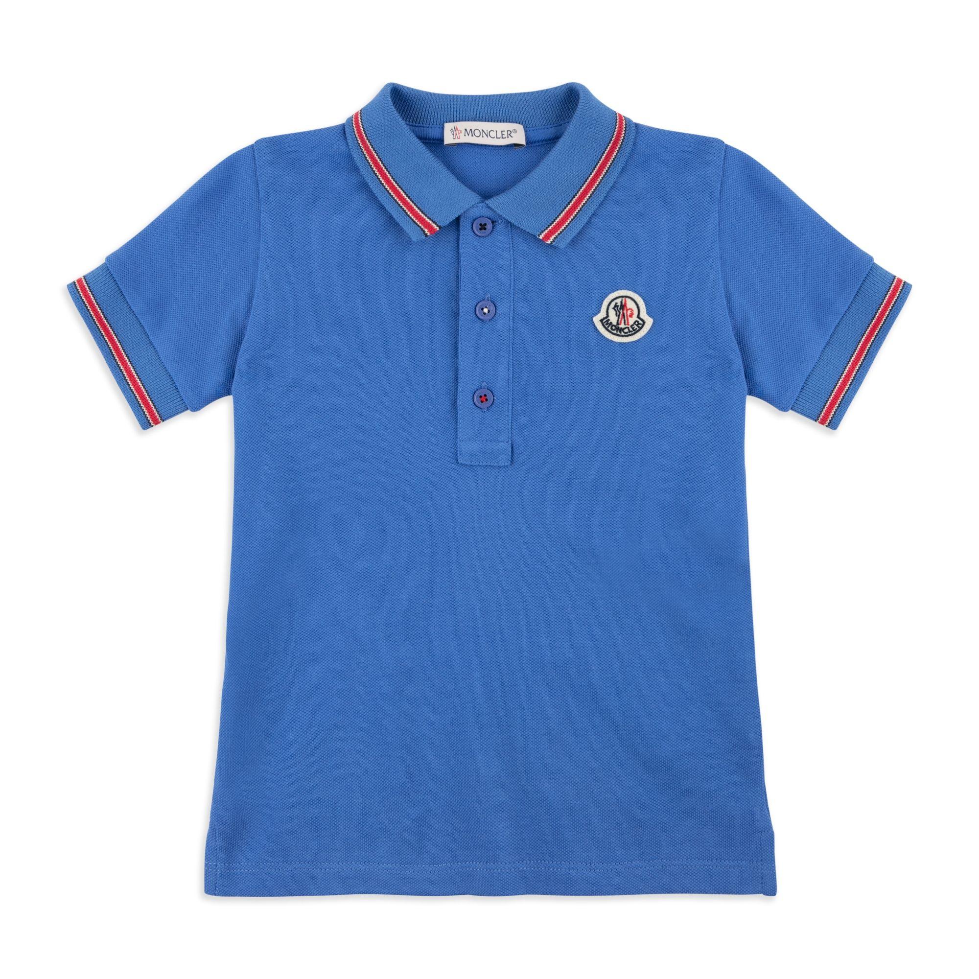 c35754074 Baby Boys Tipped Pique Polo - Blue