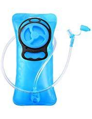 GIM - Bolsa de hidratación 2 L Incluye válvula de autobloqueo Color Azul #Deportes y aire libre #Mov...
