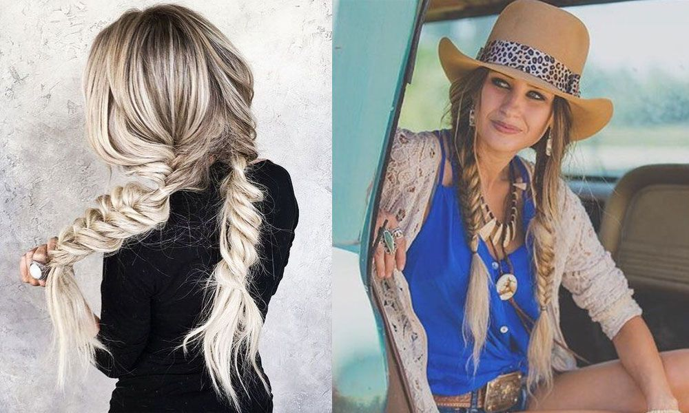 Hair Hairstyle Hairstyles Pony Tail Ponytail Pigtail Pigtails Fishtail Braid French Braid Dutch Braid Half Up Hal Cowgirl Hair Styles Cowgirl Hair Half Up Hair