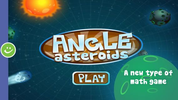 Angle Asteroids A Great Ios App For Learning About Angles Play