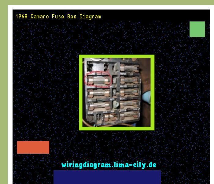 1968 camaro fuse box diagram wiring diagram 17471
