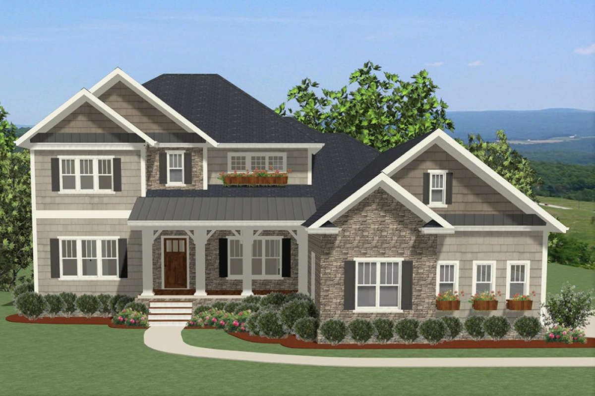 Traditional House Plan 6849