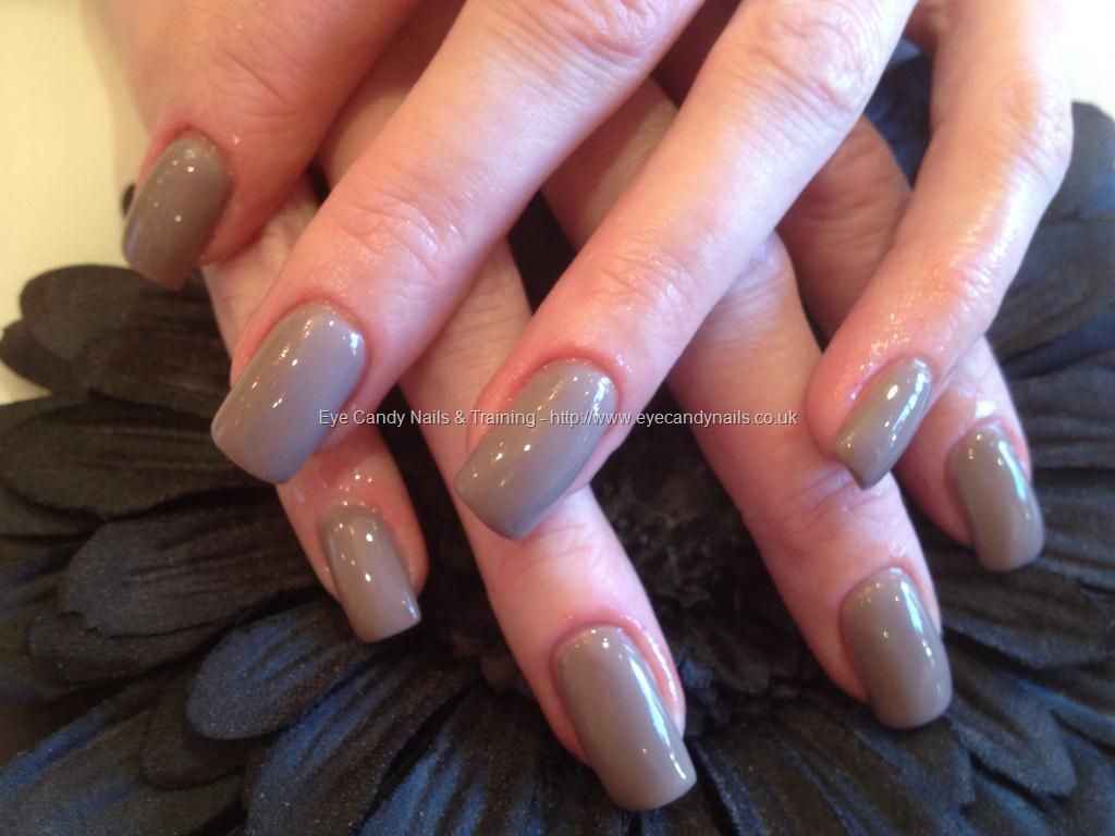 Acrylic overlay with wild mink gel polish | Nail Art | Pinterest ...