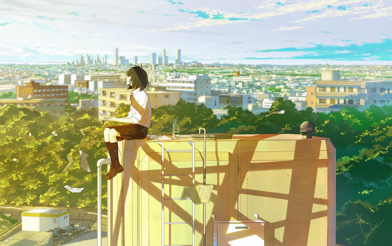 loundraw cenario para videos gatinho kawaii desenhos tumblrs