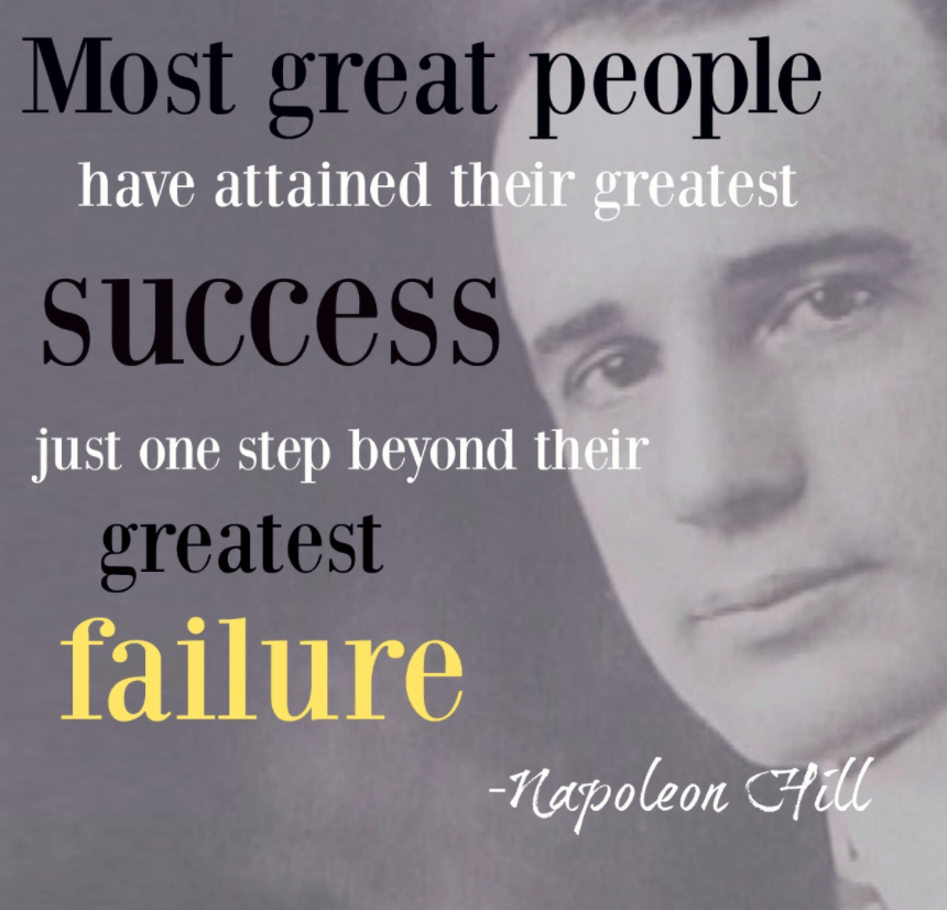 Quotes On Success And Failure: Inspirational Quotes About Overcoming Failure