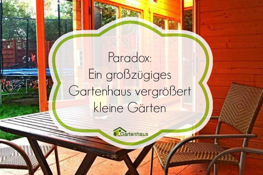 Simple Wie man mit der Wahl des richtigen Gartenhauses aus einer beengt wirkenden Ecke ein gro z giges Freizeit