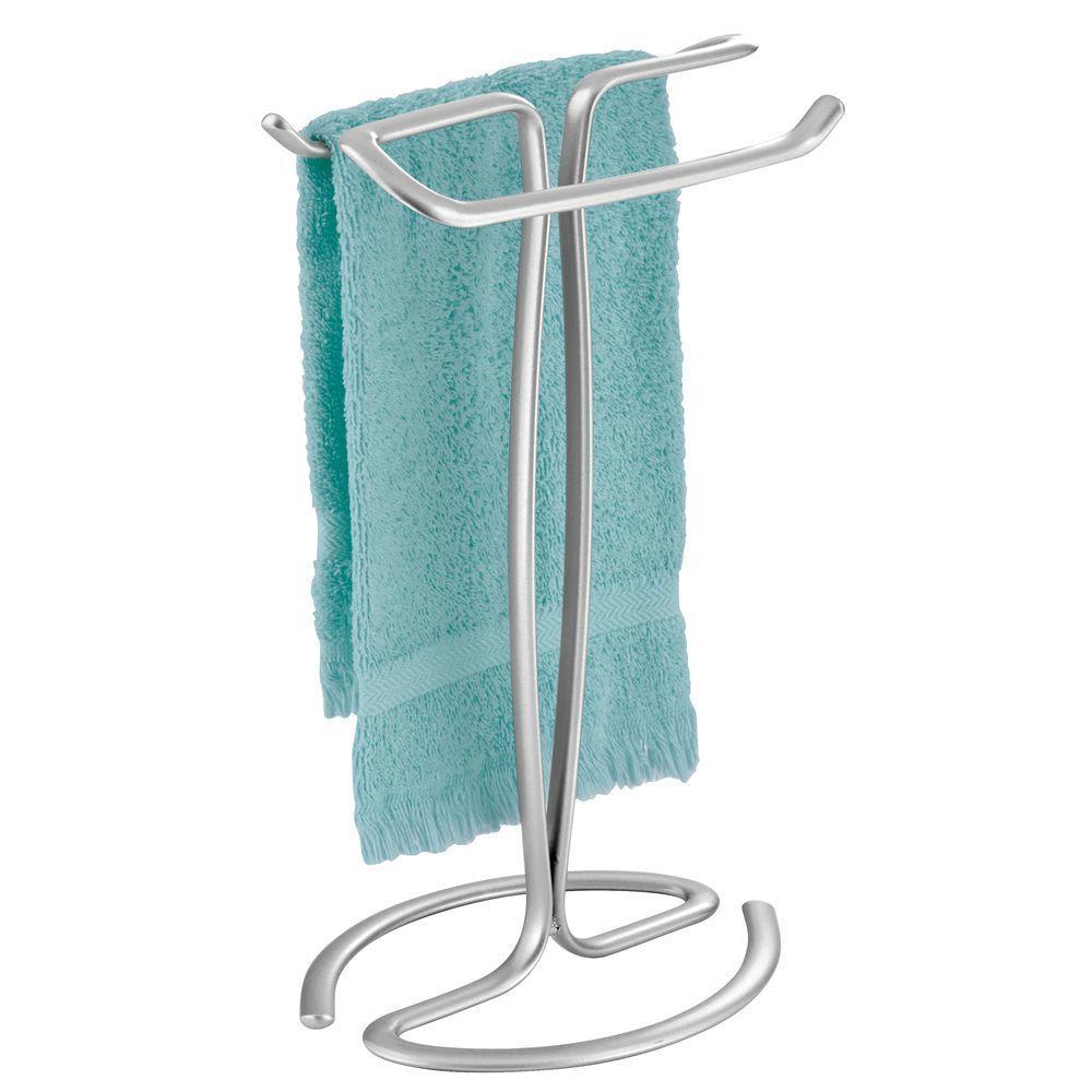 Fingertip Towel Holder For Vanity Countertop In 2020 Fingertip Towels Vanity Countertop Towel Holder