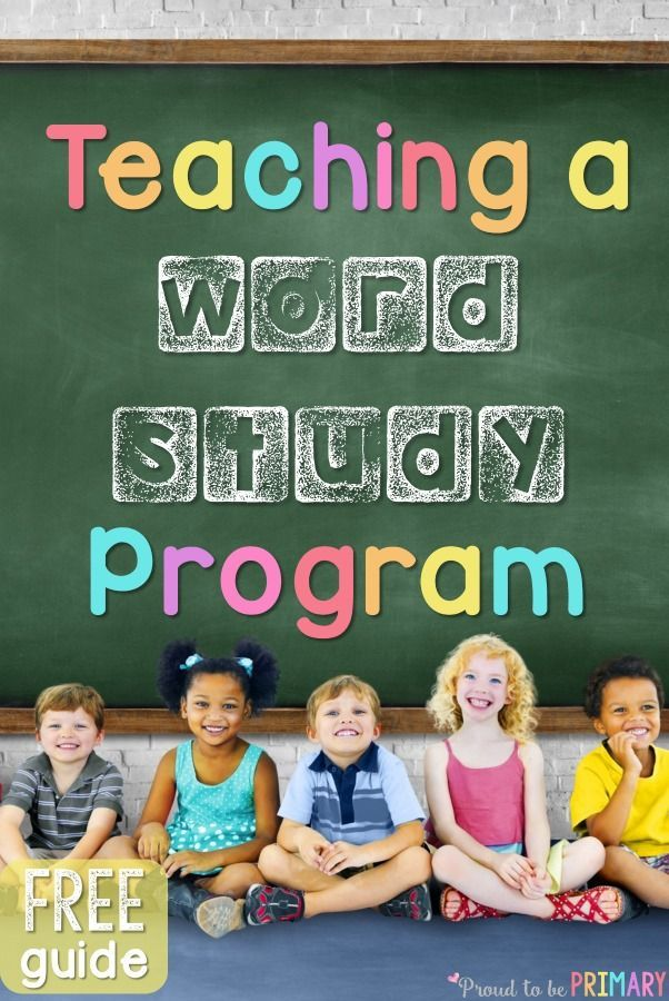 Calling all preschool, primary, and Kindergarten teachers! This post is for you! It explains how to teach a word study program to children using sight words, phonics and word family instruction, morning messages and meetings, and more. Includes FREE printable resources to get you organized and your program set!