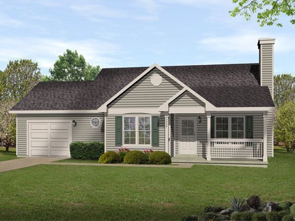 marley ranch home house plans - Small Ranch House Plans