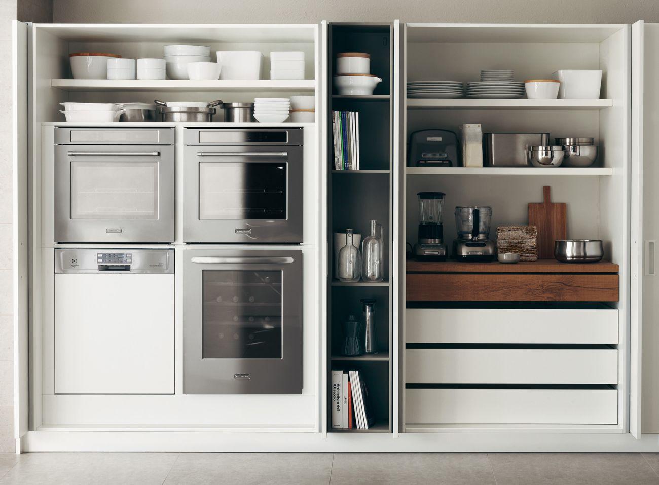 Le migliori soluzioni per le cucine piccole | Interiors, Kitchens ...