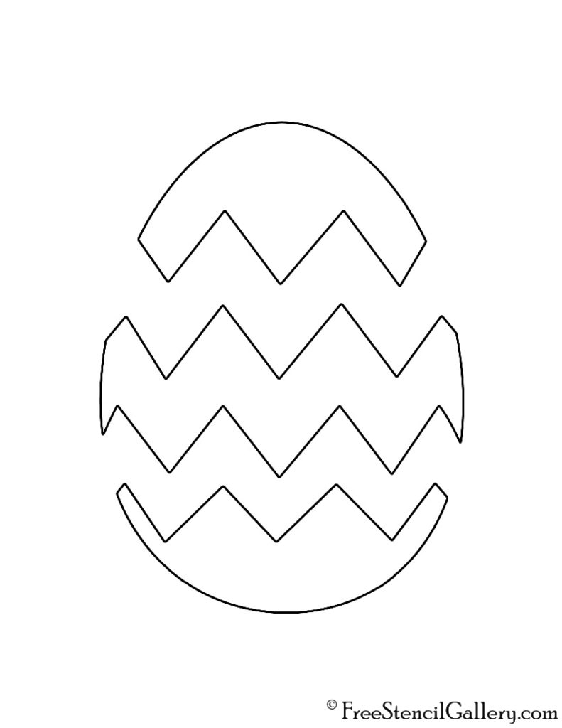 Easter Egg 02 Stencil Free Stencil Gallery Coloring Easter Eggs Easter Egg Coloring Pages Easter Printables Free