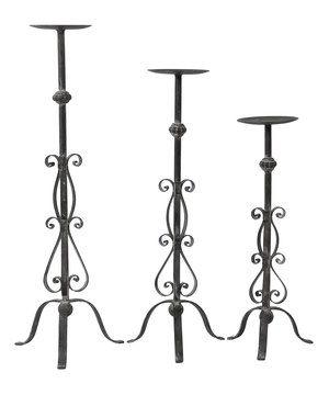 Love this Victorian Candleholder Set by VIP International on #zulily! #zulilyfinds