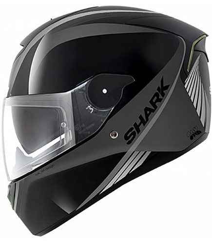 Shark Skwal With Integrated Leds Ducki Motorcycle Helmets